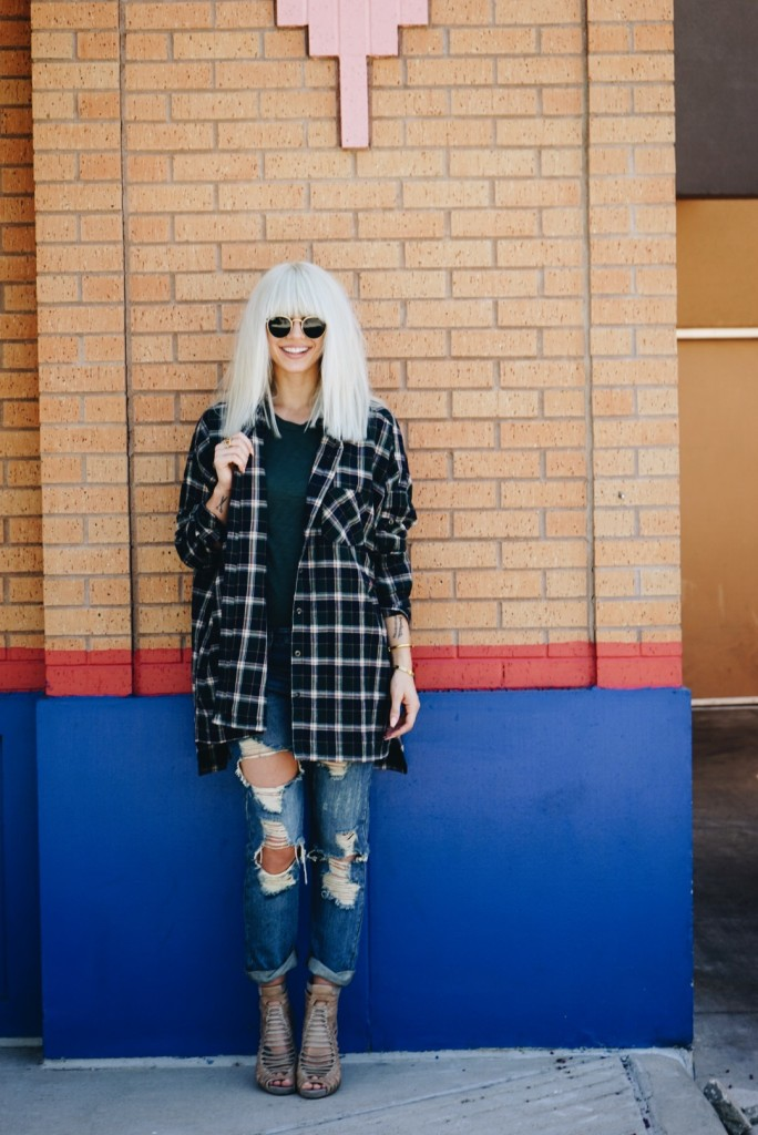 Taylor Madu | Ways to Wear Your Favorite Fall Flannel