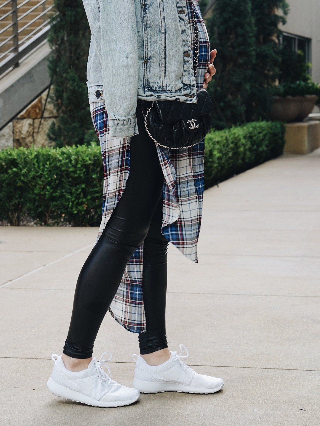 5bf2a70f Monday Blues : Denim and Plaid | Taylor Madu