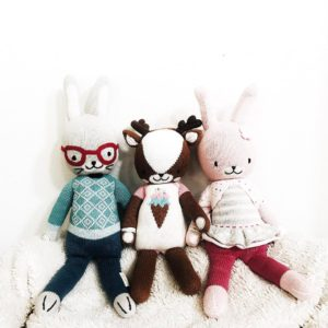 Our little cuddleandkind collection reminds me of our growing familyhellip